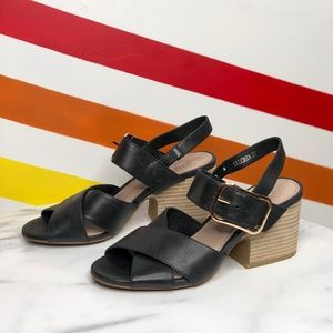 Silent D silchon heeled sandals size 37